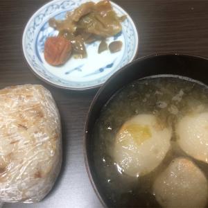 朝食1食分と夕食2食分