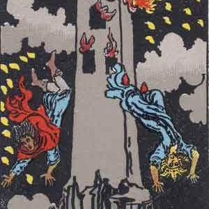 愛媛松山タロット占い師が「塔」と「悪魔」のカードを解説します