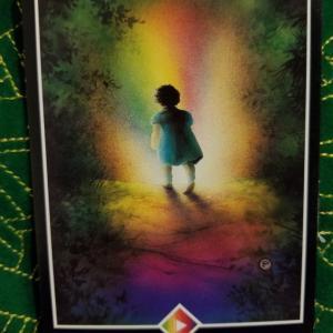 OSHO禅タロット `20/05/11~05/17 虹ペイジ ADVENTURE 冒険