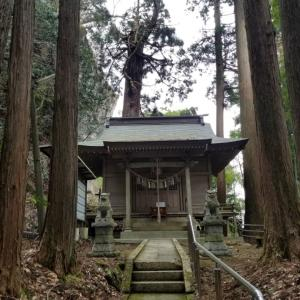 2021/03/20-② 石神山精神社(いわかみやまずみじんじゃ)