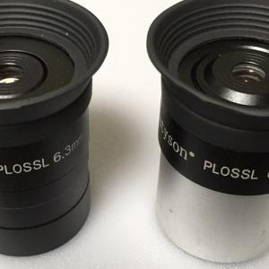 キワモノ高倍率アイピース② - 3枚5群 謎のPLOSSL