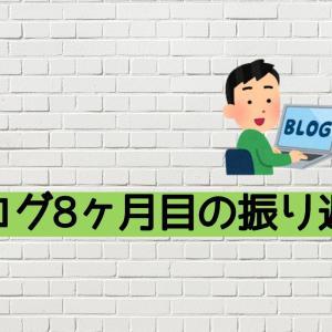 【経過報告】アクセス数が爆増したブログ8ヶ月目のご報告