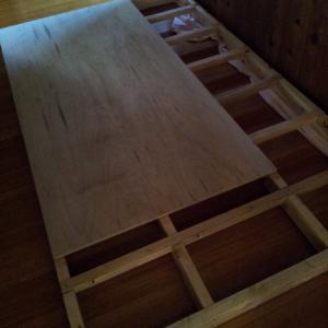 軽トラキャビン④ 床はりと側面