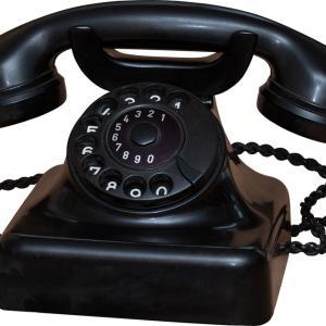 今日は電信電話記念日