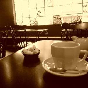 今日は喫茶店の日