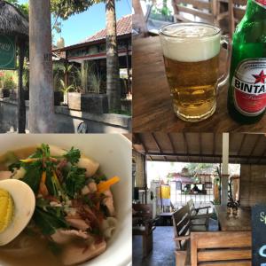 バリ・ウブドのローカル食堂「Happy Warung」で食べる絶品ミークア