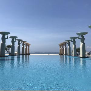 バリ島の最高リゾートホテル「ザ・ムリア」(後編)