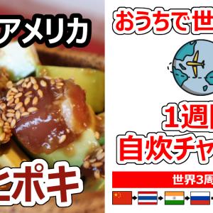 【おうちで世界一周】3周目 アメリカ アヒポキの作り方
