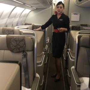 中国東方航空ビジネスクラスで行く上海の旅