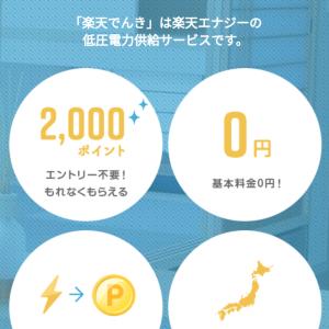 【電気代節約!】楽天でんきに申し込みました!【関西電力×4人家族】