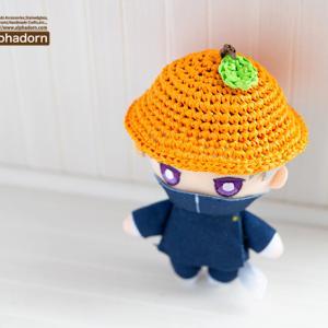 ドールのためのオレンジ帽子ぬいぐるみver.とminneでクーポン発行中ですよ♪