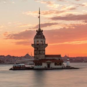 イスタンブール、アジア側Uskudarのレジデンス