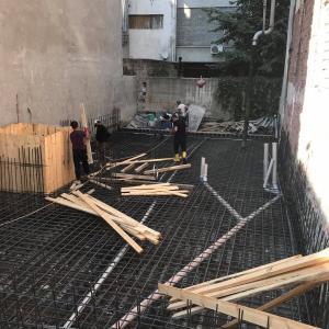 ヨーロピアンサイドに建築中のアパートメント
