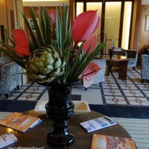今週のホテルの花