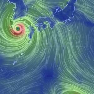 台風9号そして台風10号 かなりアブナイ