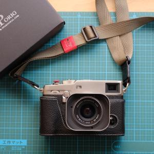 富士フィルムX-Pro3DRシルバーにTP社の本革ハーフケースを装着した話