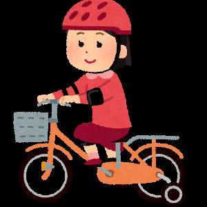 【自転車レビュー】初めて買うならかじとり棒付きがオススメ!子供の自転車デビューはコレに決まり♪