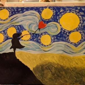 PopUp Painting イギリスでお絵描き教室に行ってきた
