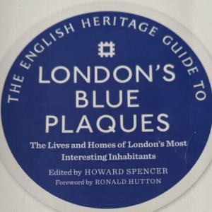 ブループラーク巡り ロンドンに住んでた有名人のお家巡り