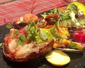 トナリャオのオマール海老!有機野菜と見事なマリアージュ★