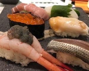 超高級パステル! 石垣貝といまどきの寿司