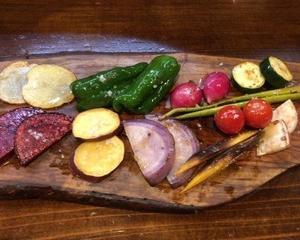 藤沢野菜の野焼! 料理人「焼き」へのこだわり