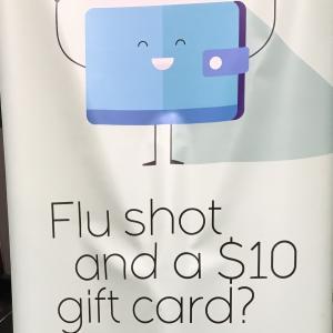 アメリカのインフルエンザ予防接種をスーパーの薬局で行い得した話