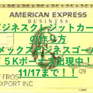 アメリカのビジネスクレジットカードの作り方|EINや枚数制限など