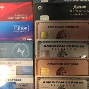 アメリカのクレジットカード特典・年会費など一括比較&管理法の公開2019年6月最新版