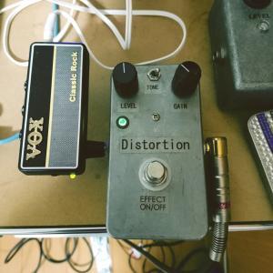 【ギター練習】VOX amPlug Classic RockとDistortion+を繋いでみたらゴリゴリサウンドに驚く