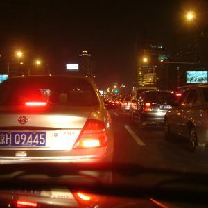 087 北京では怖くて運転出来なかった💦