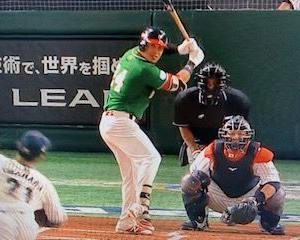 侍ジャパン勝利🎉ナバーロは2打数0安打1四球💦