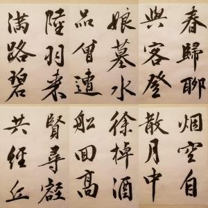 古典の臨書 文徵明