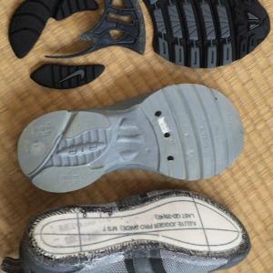 靴の修理(8):スニーカーの寿命は、長くても製造から5年!