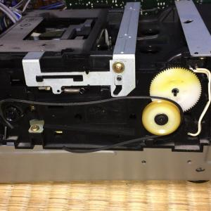 カセットテープデッキK-V3修理(1):とうとうONKYO K-V3がモーター空回り!