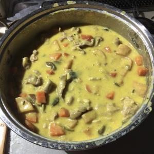 ズボラおやじの簡単レシピ(78):野菜たくさん パンプキン クリームシチュー