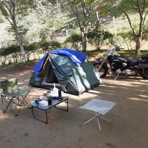 キャンプツーリング(7):1/22-24、古民家ハーフキャンプ ダイジェスト