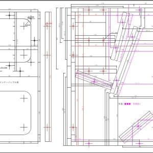 これならできる(14):とりあえず製作用の側板図など完成!