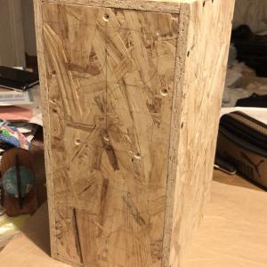 これならできる(22):箱を仮組みして叩いてみたら、パーカッションみたい!