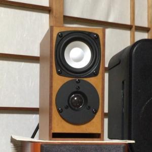 ONTOMO MOOK の付録 小型2wayスピーカー(2):結局、Stereo誌の付録 アルミコーンM800 & PT20 へ変更!