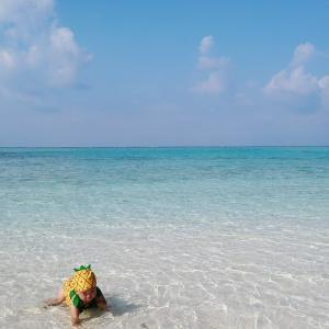 【赤ちゃんと行く沖縄】子連れで久米島・はての浜へ行く時に注意しておきたいこと