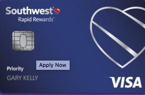 サウスウェスト航空のクレジットカードレビュー【Southwest Rapid Rewards® Priority Credit Card】