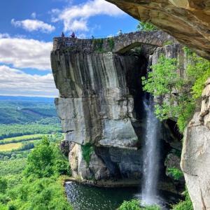 【ロックシティー・ガーデン】7つの州を一望!ジョージア州とテネシー州の州境の絶景スポット