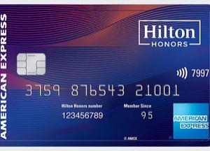 【AMEX】Hilton Honors Aspire クレジットカードレビュー