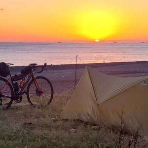 3泊4日 自転車釣りキャンプダイエットin 和歌山(大阪~白浜)