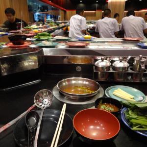 バンコクのタイスキ店、おひとり様でもOK、しかも食べ放題でお得なお店「SHABUSHI」をご紹介