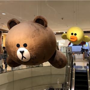 【中国北京】LINEは使えないのにLINE Friends Cafe♡【国貿】