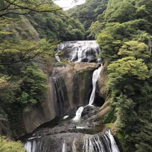 熊野の那智の滝で日本三名爆 達成
