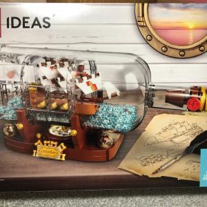【レゴ(LEGO) アイデア】シップ・イン・ボトル 21313を作ってみた