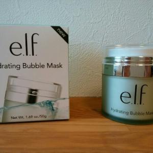 きめ細かい泡で毛穴の汚れをオフ! E.L.Fハイドレイティング・バブルマスク
